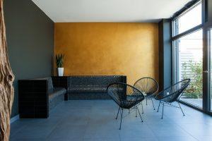Lounge in modernen Farben