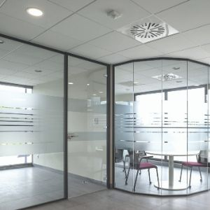 Glastrennwände Hoyez partition systems